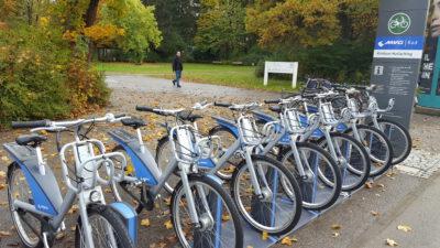 Leihradsystem der MVG - bald auch im Landkreis München