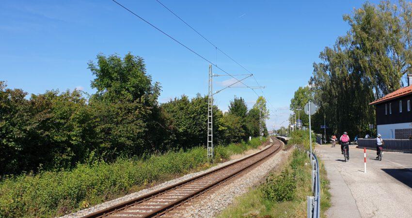 Eingleisige S-Bahn-Strecke